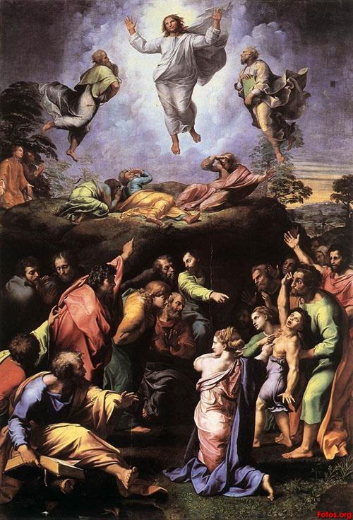 라파엘로, 그리스도의 변모