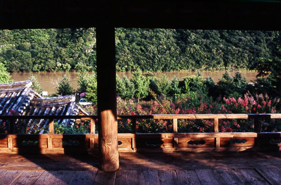 만대루와 낙동강